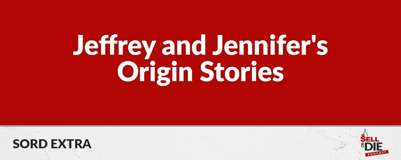 SORD Extra: Jeffrey and Jennifer's origin stories